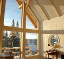 timber frame large window