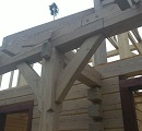 post and beam timber frame