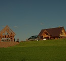 wooden country homes